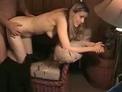 Succhiare cazzo moglie e doggystyle scopata